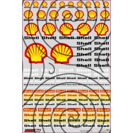 Decals Shell - 10x15cm