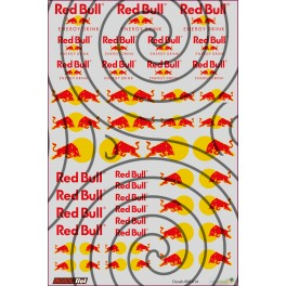 Decals Red Bull - 10x15cm
