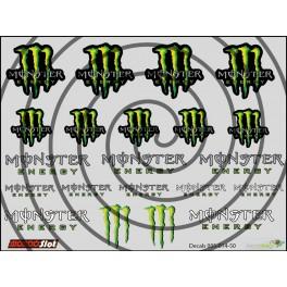 Decals Monster - 10x7.5cm