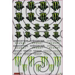 Decals Monster - 10x15cm