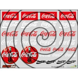 Decals Coca Cola - 10x7.5cm