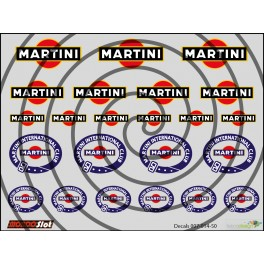 Decals Martini - 10x7.5cm