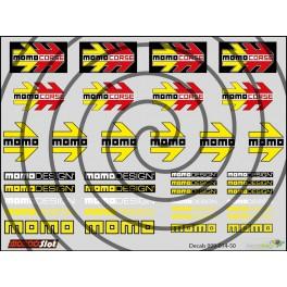 Decals Momo - 10x7.5cm