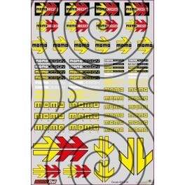 Decals Momo - 10x15cm