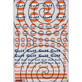 Decals Gulf - 10x15cm