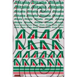 Decals Alitalia - 10x15cm