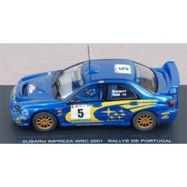 Subaru Impreza WRC n°5 - Rally Portugal 2001