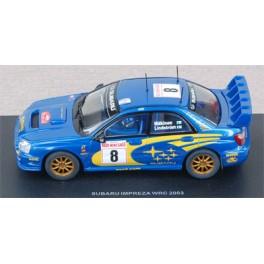 Subaru Impreza WRC n°8 - Rally Montecarlo 2003