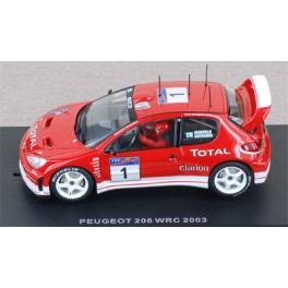 Peugeot 206 WRC n°1 - Rally Argentina 2003