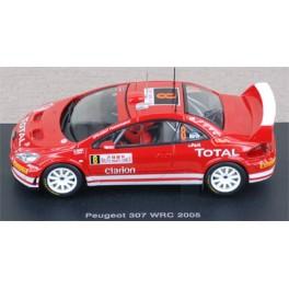 Peugeot 307 WRC n°8 - Rally Montecarlo 2005