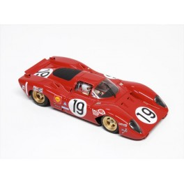 Ferrari 312 P Official - 24Hrs LeMans 1969