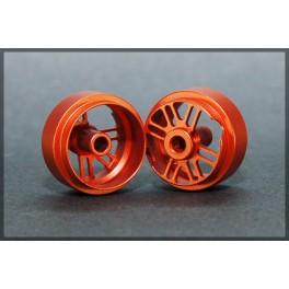 Cerchi Posteriori in Alluminio Anodizzato 15.9x10mm ORANGE - Black Arrow