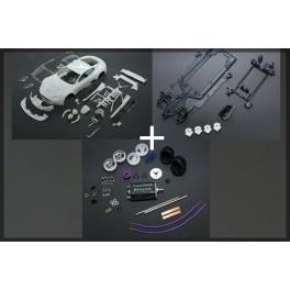 Aston Martin DBR9 Kit Completo Bianca - Black Arrow