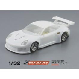 Kit Racing Bianco Porsche 991 GT3 Completo - Scaleauto