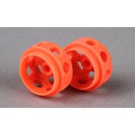 Cerchi in Delrin Ultraleggeri - 14.5x9 Arancio