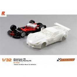 Kit Racing Bianco Corvette C7R Completo - Scaleauto