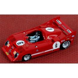 Alfa Romeo 33 TT 12 K Targa Florio 1973 De Adamich-Stommelen