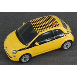 Fiat 500 Stradale Gialla - Scalextric
